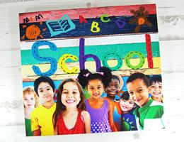 School Canvas prints
